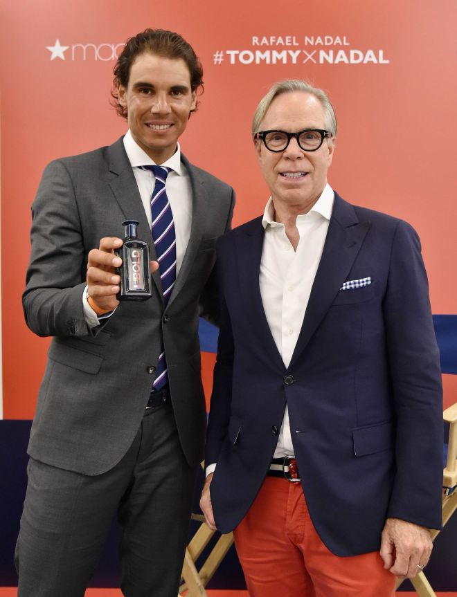 webinstance_01. Rafael Nadal and Tommy Hilfiger at Macy's Herald Square